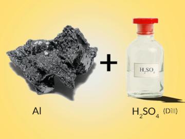 Al H2SO4