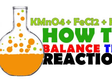 KMnO4+Fecl2+HCl