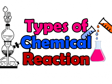 Chemical reaction Types of chemical reaction